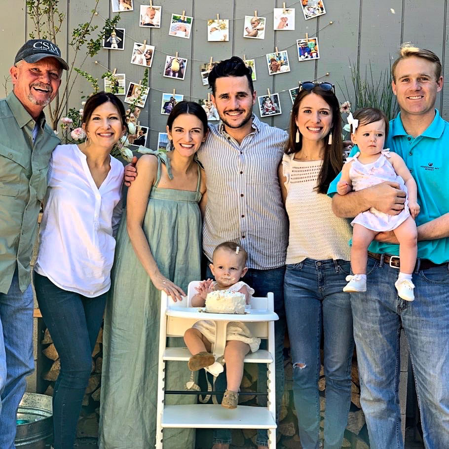 Dane Mount with Family