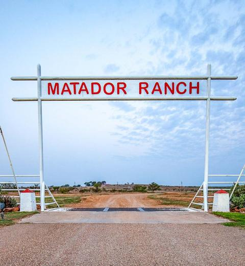 The Matador Ranch Gate