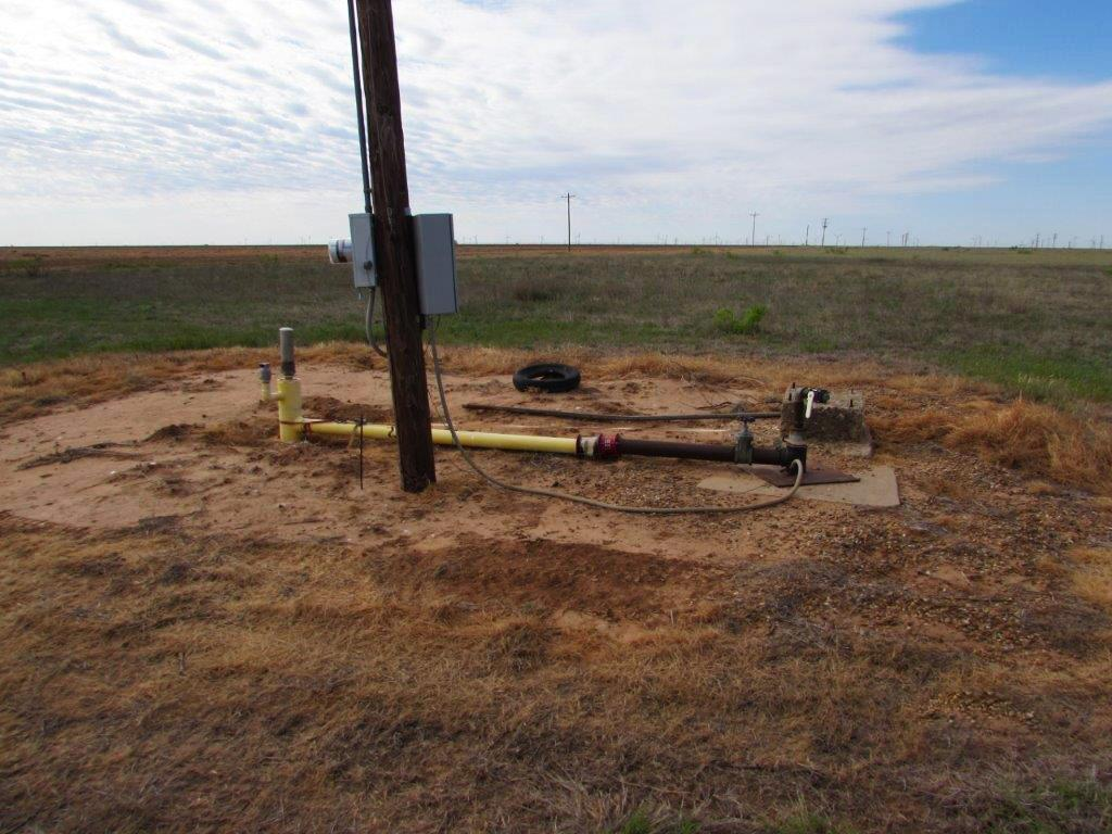 Water Well with electrical pole